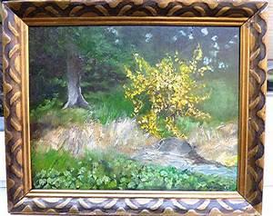 Busch Mit Gelben Blüten : 208 gelber busch lgem lde ~ Frokenaadalensverden.com Haus und Dekorationen