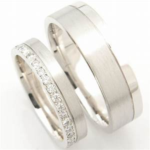 platinum matching pair of wedding rings form bespoke With matching platinum wedding rings
