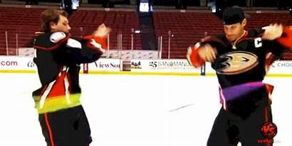 Hockey Erik Ducks Anaheim Nhl Bench Kramer