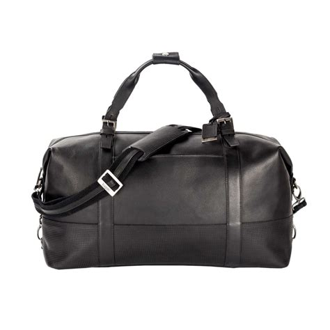 gym bags bugatti soledad leather duffel bag