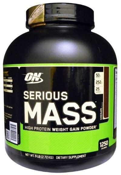 best protein mass gainer optimum nutrition serious mass chocolate weight gain