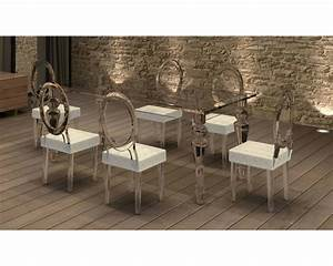 emejing table salle a manger beige gallery lalawgroupus With chaise de salle a manger cuir
