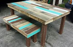 Wooden Bench And Table Set Diy Farmhouse Table And Bench