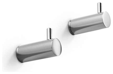Modern Bathroom Hooks by Picola Bathroom Hooks In Polished Chrome Modern Robe