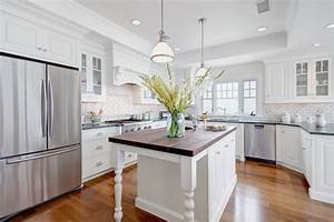 25 beautiful kitchen designs With the perfect kitchens with white cabinets for you