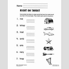 Rcontrolled Vowel Ar  Free Phonics Worksheet  Rcontrolled Vowels  Phonics Worksheets