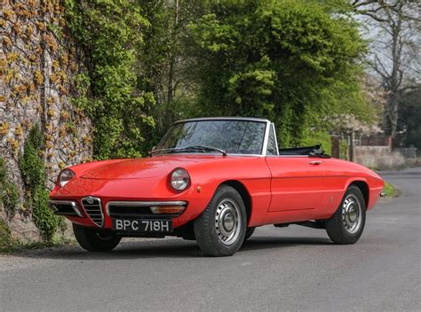 1970 Alfa Romeo Spider by 1970 Alfa Romeo Spider 1300 Junior Roundtail Sold By