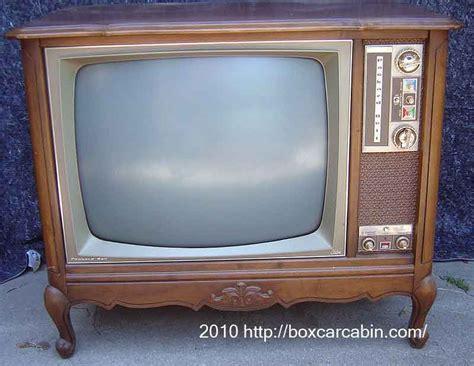 tv möbel retro vintage color repair los angeles california tv collection