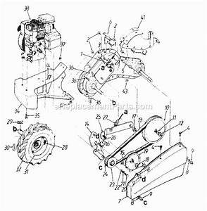 Mtd 21a-410-352 Parts List And Diagram