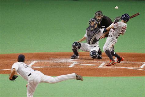 matt shoemaker leads mlb  stars  victory  japan
