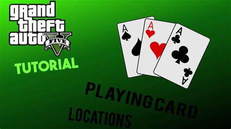 This marks the halfway point of our 54 playing cards locations guide. Gta 5 Tutorial : All playing card locations - YouTube