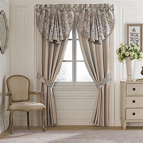 Croscill® Victoria 21 Inch Swag Window Valance in Grey