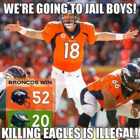 Broncos Memes - manning beats eagles meme