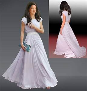 Kate Middleton Inspired Evening Gown