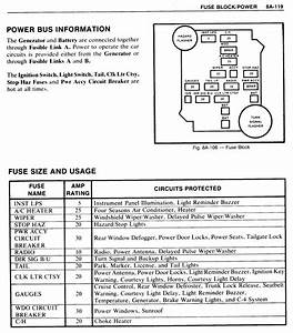 1980 El Camino Fuse Box Diagram