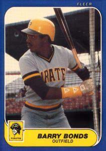 top barry bonds rookie cards baseball cards autographs