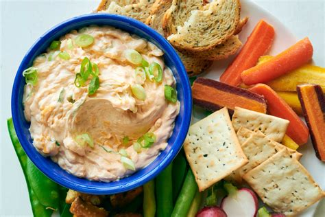 cheddar scallion dip recipe nyt cooking