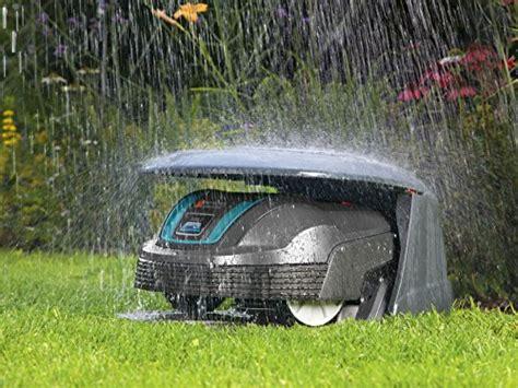 Rasenroboter Gardena Garage by Gardena 04007 20 Rasenroboter Garage Test