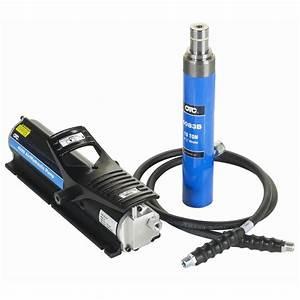 Otc 4042 Cobra Hydraulic Ram Pump  U0026 Hose Set Otc4042