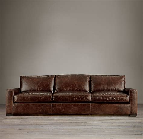 restoration hardware maxwell three cushion sofa decor look alikes