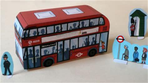 papier modellbau aus london der doppeldecker olis bahnwelt