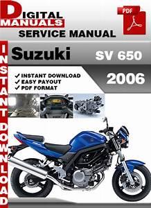 Suzuki Sv 650 2006 Factory Service Repair Manual Pdf