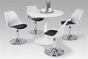 Tisch Rund Weiß : esstisch esszimmertisch k chentisch tisch hochglanz weiss wei rund modern kaufen bei go perfect ~ Markanthonyermac.com Haus und Dekorationen