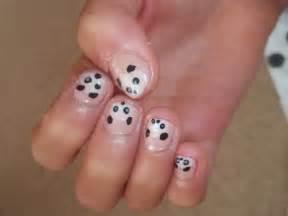 Lucylivinglife panda nail design