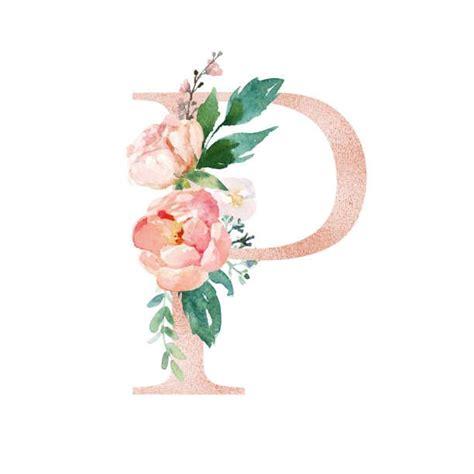 buchstabe letter p flower painting iphone wallpaper