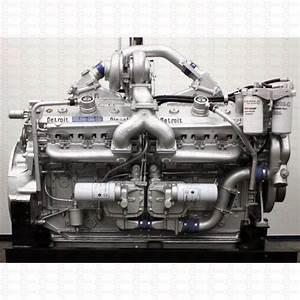 Detroit Diesel Engine Series 92 All Models V6 V8 V12 V16
