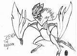 Zenith Noivern Coloring Pages Chuggaaconroy Sprite Team Deviantart Template Sketch sketch template