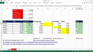 Mileage Spreadsheet Template Excel Magic Trick 1157 Running Total Jumps Over Hurdle