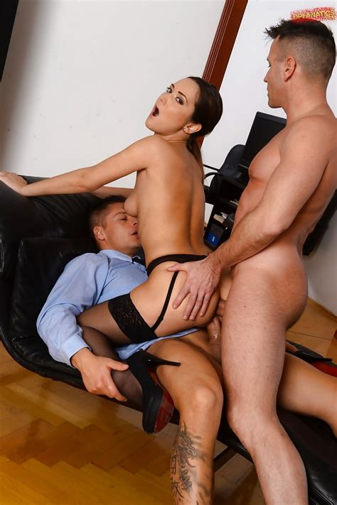 Stocking And Garter Attired Euro Milf Angie Moon Receiving