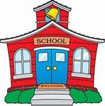 Clip Clipart Printable Building Schools Clipartpanda Elementary