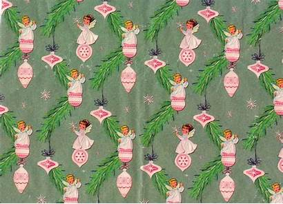 Christmas Paper Wrapping Papers Pretty Retro