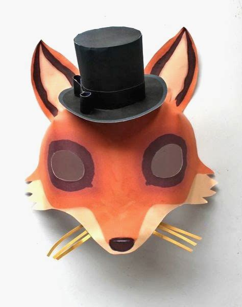 10 Stylish Fantastic Mr Fox Mask Template You Will Love