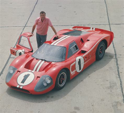 Shelby-Built Le Mans Winning 1967 Ford GT40 Mark IV Tours ...