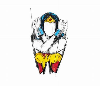 Characters Faceless Dc Powerful Drawing Disney Illustrations