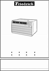 Download Friedrich Air Conditioner 115 Volts Us08 Manual