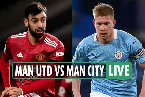(2021) ᐉ Man Utd Vs Man City LIVE: Stream, TV Channel ...