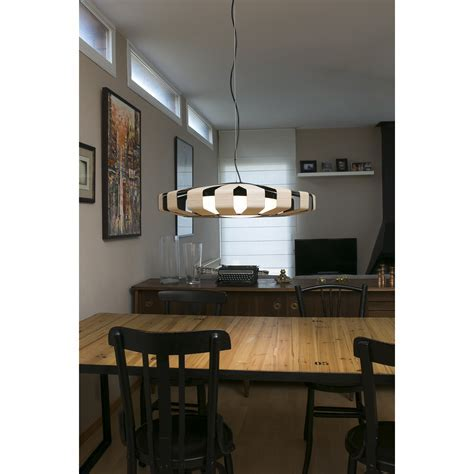 PAULINE LED Wood pendant lamp ? Faro