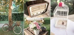 Deco Mariage Vintage : reportage elodie et florent mariage vintage chic ~ Farleysfitness.com Idées de Décoration