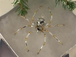 german christmas tree beaded spider legend tarantula ornament handmade pendant