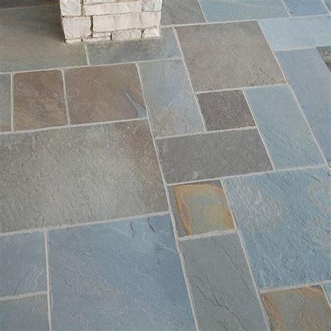 bluestone flagstone orijin stone patterned flagstone bluestone full color natural cleft tomaka porch
