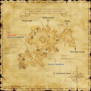 Western Altepa Desert/Maps FFXIclopedia Fandom powered