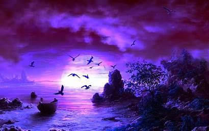Fantasy Backgrounds Purple