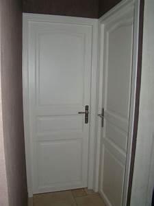 porte maison interieur blanche With porte de garage et porte interieur noire