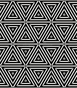 Seamless Geometric Pattern, Simple Vector Black And White ...