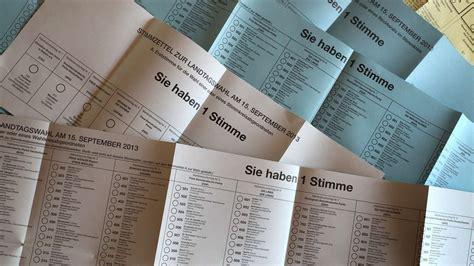 Umfragen sagen einen sieg der cdu von ministerpräsident haseloff voraus. Stimmzettel zur Landtagswahl Bayern 2018: So wird er ausgefüllt | Politik