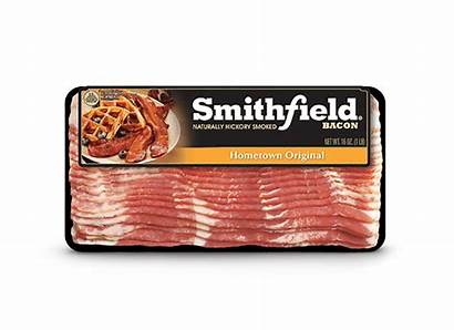 Bacon Smithfield Hometown Breakfast Meal Cooked Natural